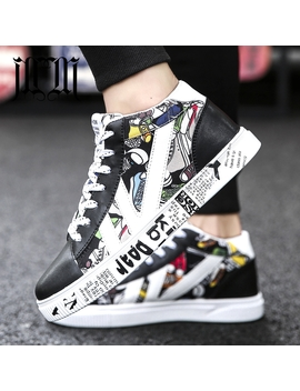 Mumu Eli 2018 Mixed Colors Black White Red New High Top Quality Fashion Luxury Shoes Men Designer Casual Flat Male Sneakers 1799 by Mumu Eli