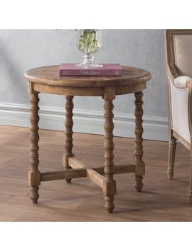 Mistana Haylie Wooden End Table & Reviews by Mistana