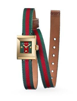 G Frame Wrap Strap Watch by Gucci