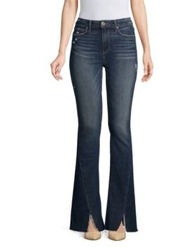 Lou Lou High Rise Flare Jeans by Paige