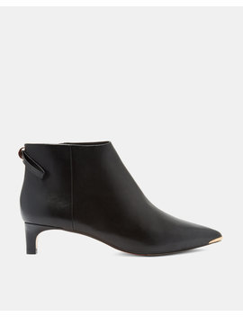 Kitten Heel Ankle Boots by Ted Baker