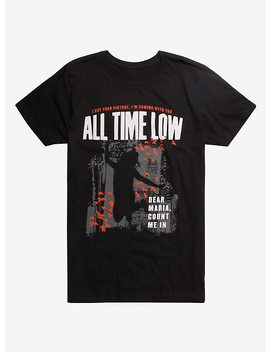 All Time Low Dear Maria T Shirt by Hot Topic