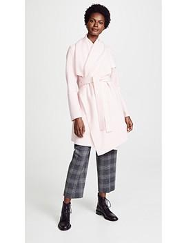 Wool Robe Coat by Harris Wharf London