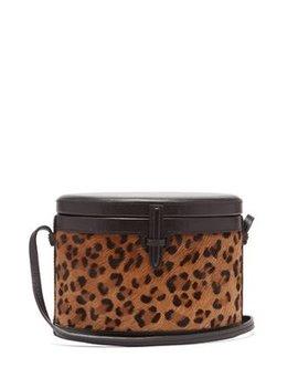 Trunk Leopard Print Cross Body Bag by Hunting Season