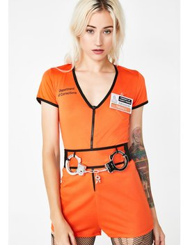 Solitary Confinement Prisoner Costume by Dreamgirl