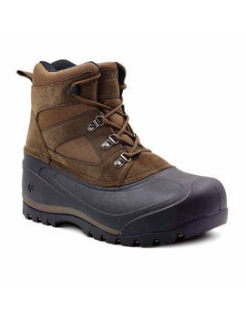 Northside Mens Tundra Winter Boots Insulated Flat Heel Lace Up by Northside