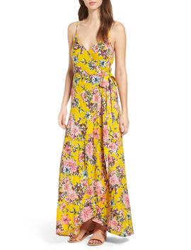 Chrysanthemum Wrap Front Dress by Band Of Gypsies