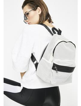 Mesh With Ya Backpack by Fame Accessories