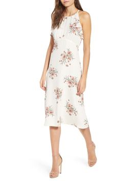 Floral A Line Dress by June & Hudson