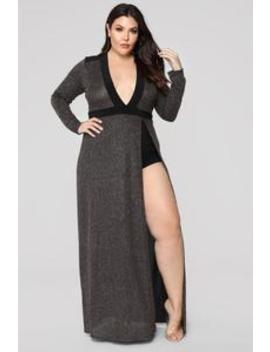 Follow Me Home Maxi Dress   Black by Fashion Nova