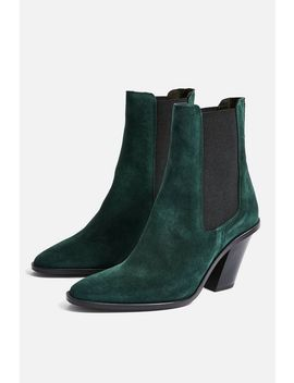 Morty Suede Ankle Boots by Topshop