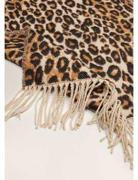 Cachecol Leopardo by Mango