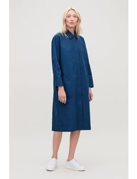 Long Jacket With Gathered Back by Cos