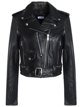Leather Biker Jacket by Re/Done By Levi's