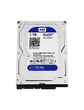 Wd Blue 1 Tb Desktop Hard Disk Drive   7200 Rpm Sata 6 Gb/S 64 Mb Cache 3.5 Inch   Wd10 Ezex by Wd