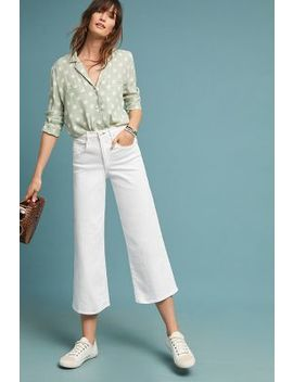 Mc Guire Bessette High Rise Culotte Jeans by Mc Guire