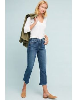 Mc Guire Gainsbourg High Rise Cropped Flare Jeans by Anthropologie