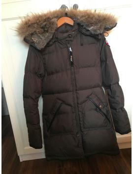 Pajar Parka: Down And Fur Winter Jacket Size Xs by Pajar