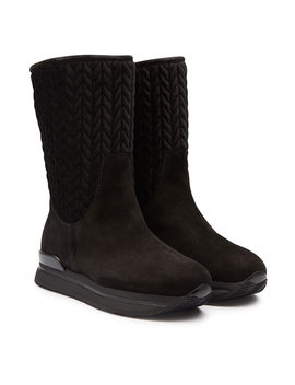 New Winter Suede Boots With Velvet by Hogan
