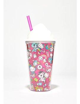 Hello Kitty Tokidoki Straw Cup by Sanrio