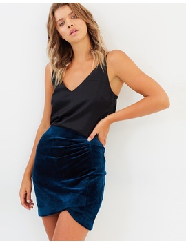 Iconic Exclusive   Reese Velvet Skirt by Atmos&Here