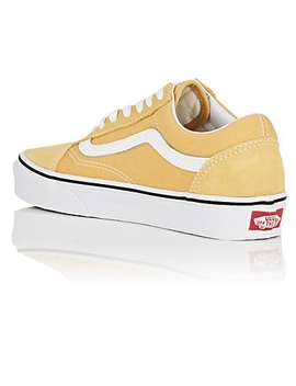 Women's Old Skool Suede &Amp; Canvas Sneakers by Vans