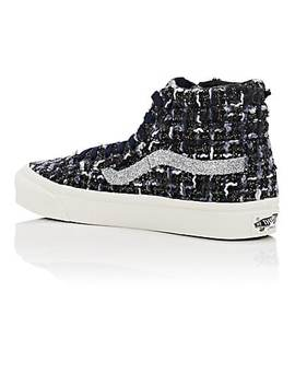 Women's Og Sk8 Hi Lx Tweed Sneakers by Vans