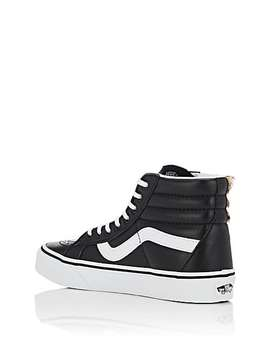 Sk8 Hi Reissue Calf Hair &Amp; Leather Sneakers by Vans