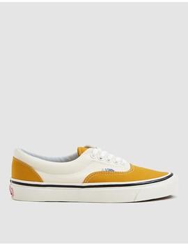 Era 95 Dx Anaheim Factory Sneaker In Saffron/White by Vans