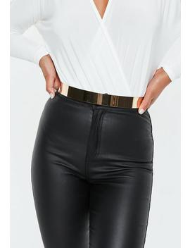 Gold Cuff Belt by Missguided
