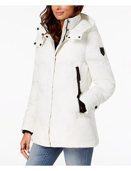 Hooded Puffer Coat by Vince Camuto