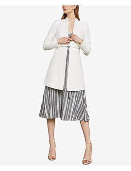 Zip Detail A Line Jacket by Bcbgmaxazria