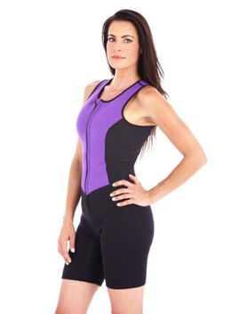 Kutting Weight Neoprene Weight Loss One Piece Women's Sauna Suit Fitness Apparel by Kutting Weight