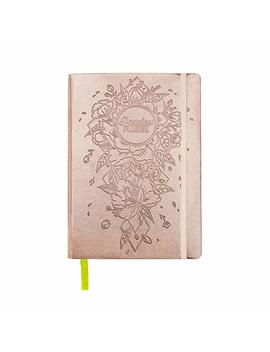 Academic Passion Planner Pro Aug 2018   Jul 2019   Goal Oriented Daily Agenda, Appointment Calendar, Reflection Journal   (B5) Sunday Start (Radiant Rose Gold) by Passion Planner