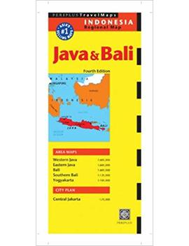 Java & Bali Travel Map Fourth Edition (Periplus Travel Maps) by Amazon
