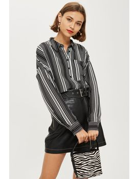 Lightweight Stripe Shirt by Topshop
