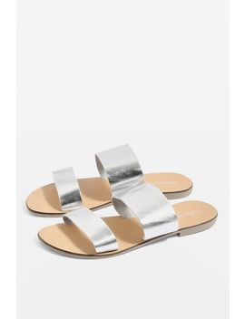 Metallic Sandals by Topshop