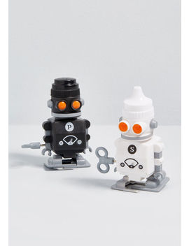 Does Not Compote Wind Up Salt And Pepper Shakers by Modcloth