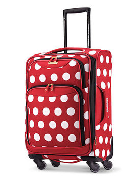 "Disney Minnie Mouse Polka Dot 21"" Spinner Suitcase By American Tourister by American Tourister"