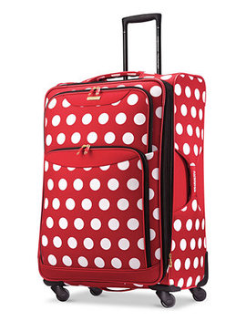 "Disney Minnie Mouse Polka Dot 28"" Spinner Suitcase By American Tourister by American Tourister"