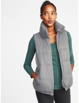 Textured Frost Free Puffer Vest For Women by Old Navy