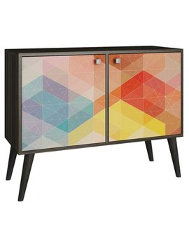 Accentuations By Manhattan Comfort Avesta Double Side Decorative Chest Table 2.0 by Accenuations By Manhattan Comfort