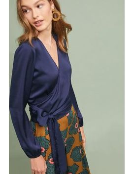 Milano Wrap Blouse by The Odells
