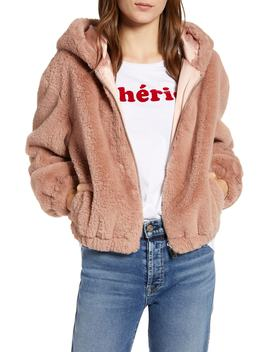 Arabella Faux Shearling Jacket by French Connection