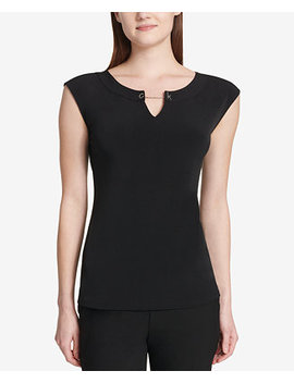 Logo Toggle Top by Calvin Klein