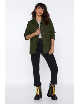 After Party Vintage At Your Command Jacket by Nasty Gal