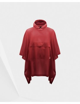 "<Span Itemprop=""Name"">Original Vinyl Poncho</Span>:                     <Span>Military Red</Span> by Hunter"