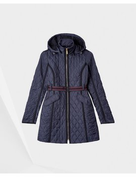 "<Span Itemprop=""Name"">Women's Refined Quilted Trench Coat</Span>:                     <Span>Navy</Span> by Hunter"