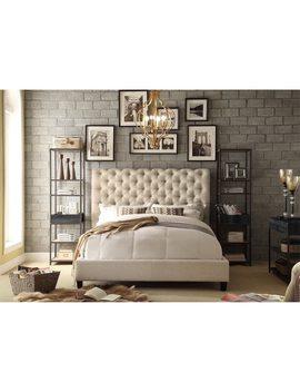 Moser Bay Furniture Calia Tufted Upholstered Platform Bed by Generic