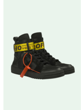 Black Hi Top Sneakers by Off White